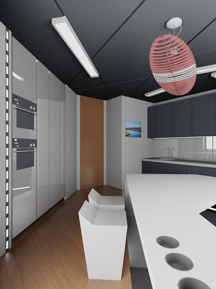 Кухня: Кухни в . Автор – (DZ)M Интеллектуальный Дизайн