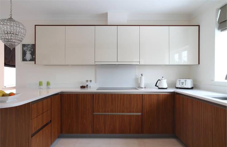 Contemporary kitchen:  Kitchen by John Ladbury and Company