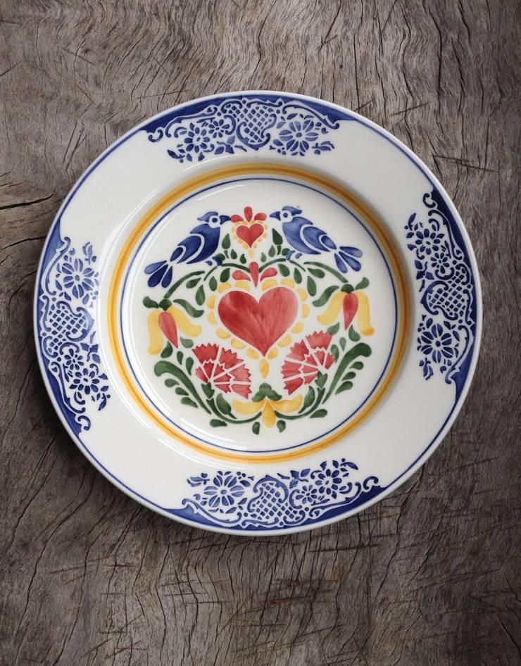 Serveerschaal Amor 35cm:  Eetkamer door Burra Burra