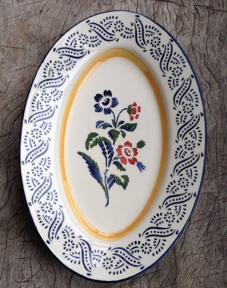 ovalen serveerschaal :  Keuken door Burra Burra