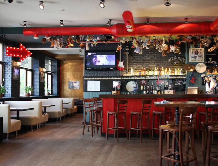 "Бар-ресторан ""Куклы-пистолеты"": Бары и клубы в . Автор – Space for life, Лофт"