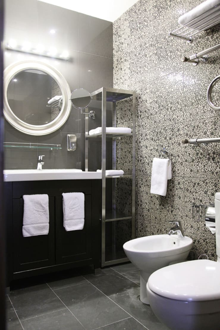 "Санузел. Номер ""Стандарт"".: Ванная комната в . Автор – Мария Остроумова"