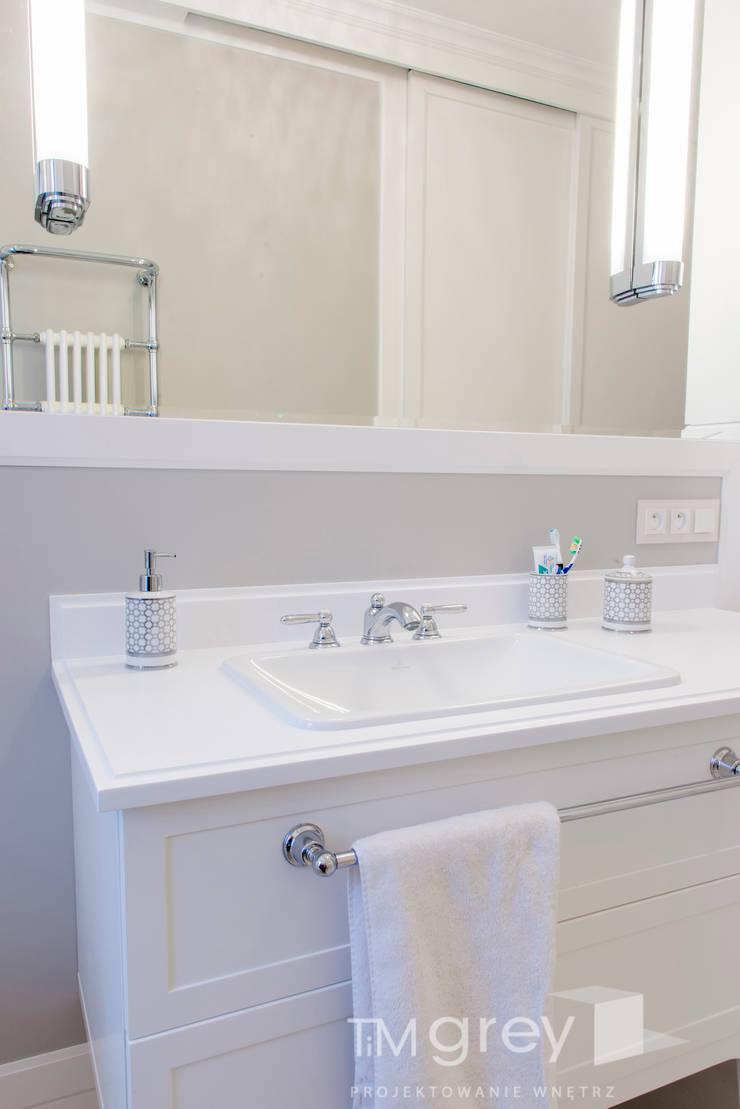 NY Style Apartment : styl , w kategorii Łazienka zaprojektowany przez TiM Grey Interior Design