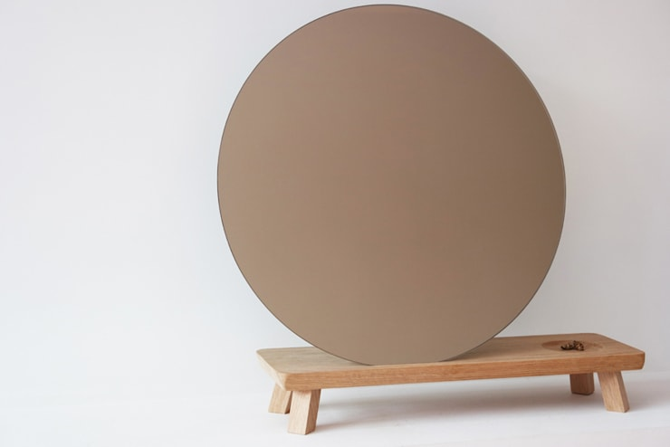 Vanity MINI. mirror:  Woonkamer door Diederik Schneemann
