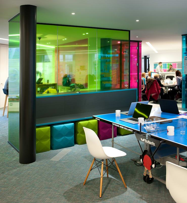 Is it a table tennis tennis table or a desk?:  Office spaces & stores  by Morgan Lovell