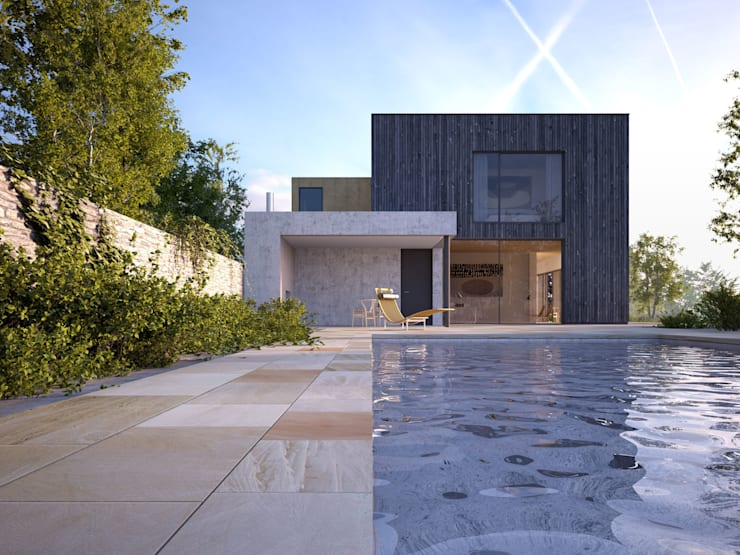 Surrey Hills House:   by John Pardey Architects
