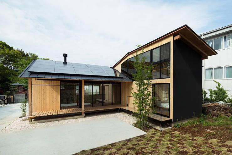 松島潤平建築設計事務所 / JP architects의  주택