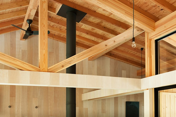 Qilin: 松島潤平建築設計事務所 / JP architectsが手掛けたリビングです。