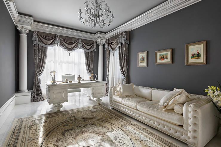 Дом в Песочном: Рабочие кабинеты в . Автор – Privilege Design