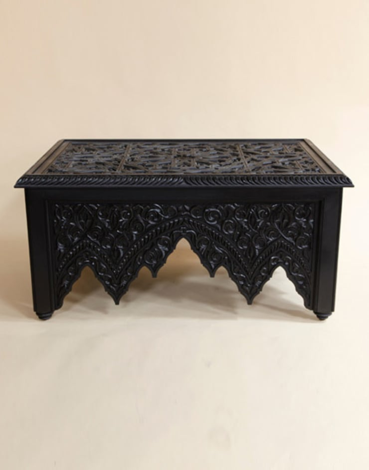 Large Moroccan Coffee Table:  Living room by Moroccan Bazaar