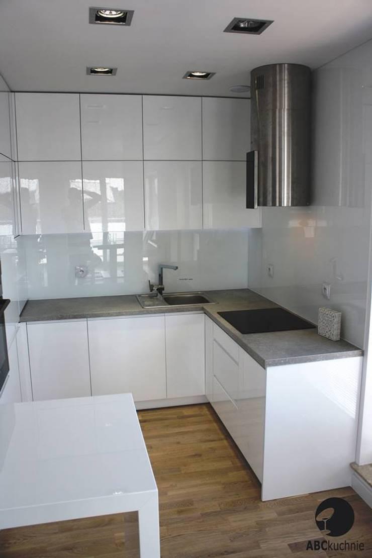 Realizacja Apartament Preludium: styl , w kategorii Kuchnia zaprojektowany przez ABC kuchnie