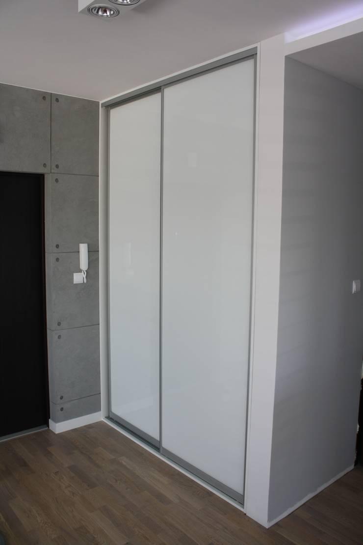 Realizacja Apartament Preludium: styl , w kategorii Korytarz, hol i schody zaprojektowany przez ABC kuchnie
