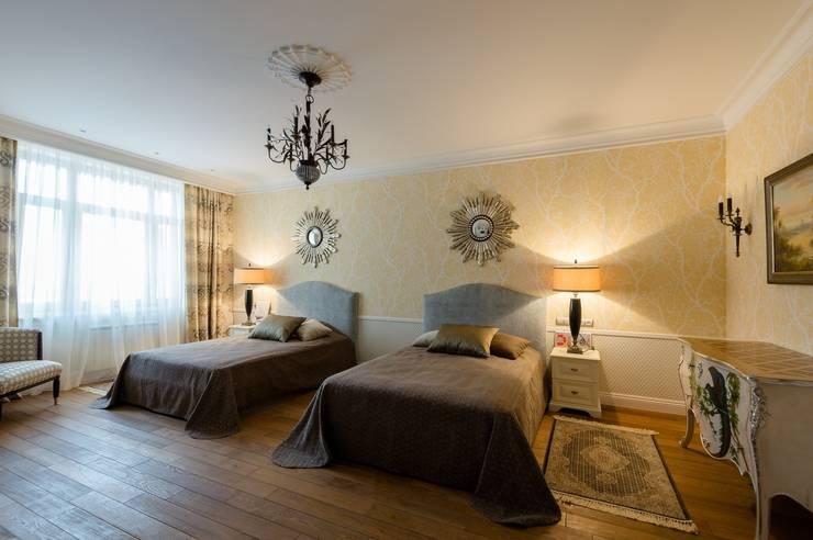 Квартира в Москве 166 кв. м.: Детские комнаты в . Автор – MM-STUDIO, Колониальный