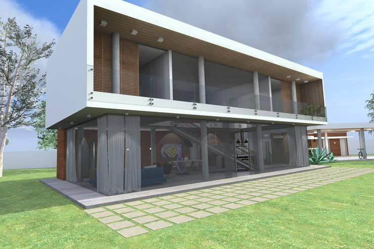 Casa na Chácara:   por Sérgio Machado Arquitetura