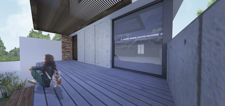 Casa Loft: Casas  por K+S arquitetos associados