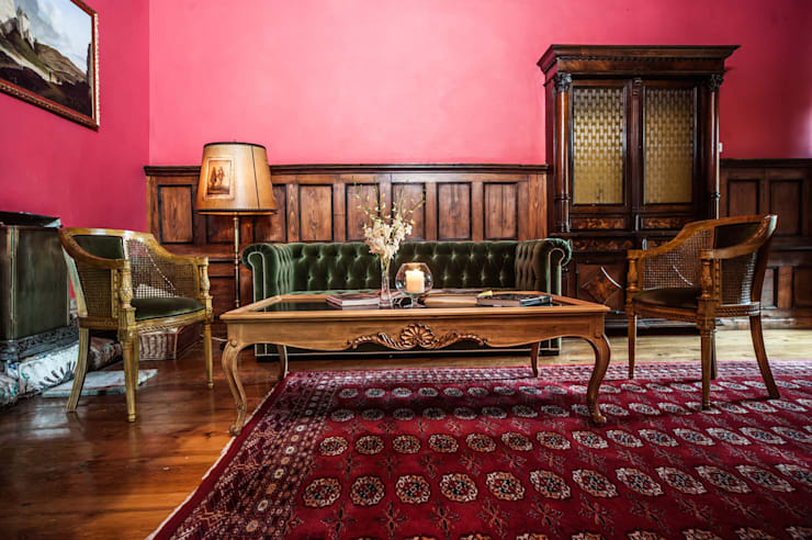 Woonkamer door Maison de Rome INTERIOR DSIGN