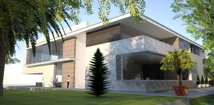 Проект особняка в г. Сухуми, республика Абхазия : Дома в . Автор – INHOUSE