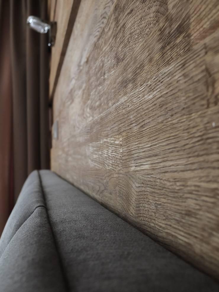 Apartament w Zakopanem - detal: styl , w kategorii Ściany zaprojektowany przez Jacek Tryc-wnętrza