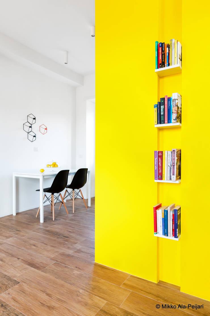 Minimalist dining room by Maurizio Giovannoni Studio Minimalist