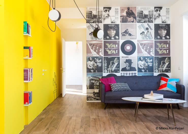 Salas / recibidores de estilo  por Maurizio Giovannoni Studio
