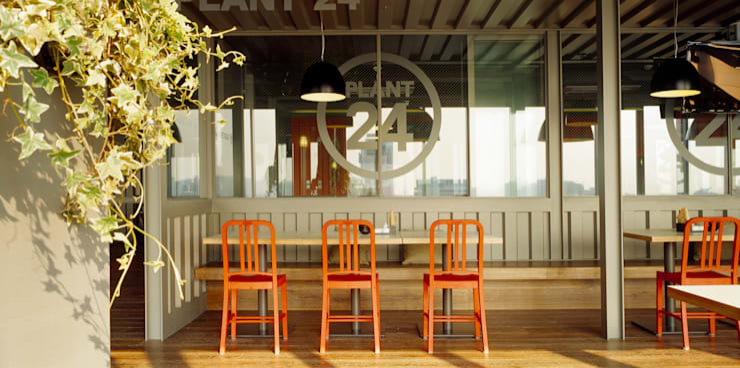 ●24F  Plant 24: B&A DESIGN COMMUNICATION의  레스토랑