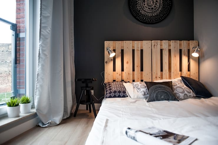 Bedroom by Raca Architekci,
