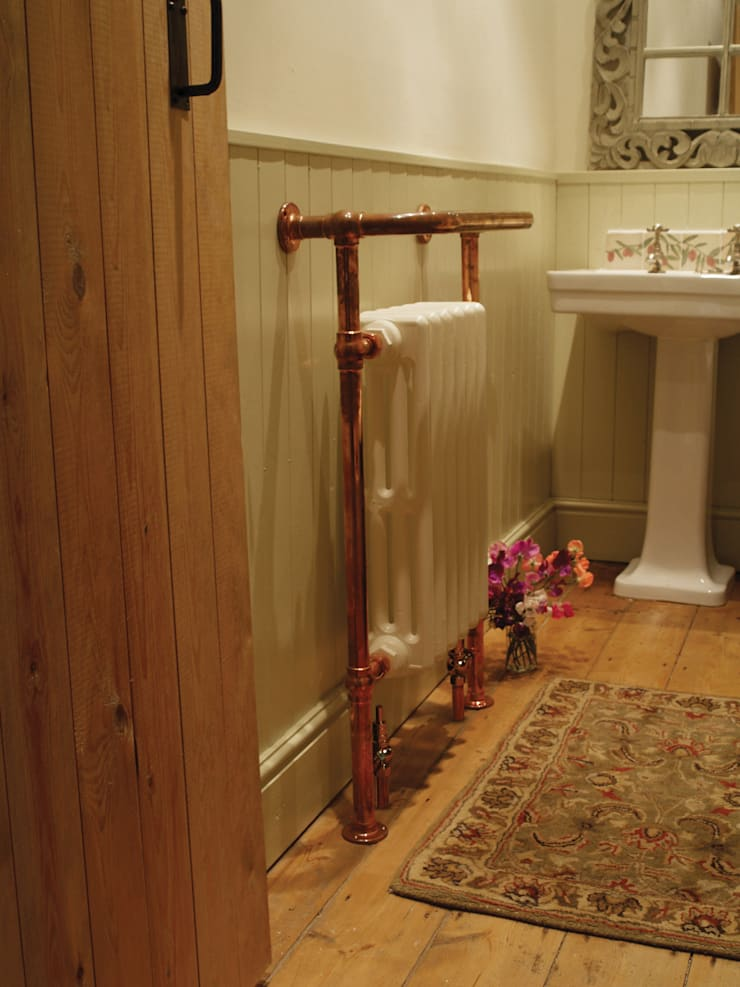 Carron Broughton Bathroom Towel Rail in Copper :  Bathroom by UK Architectural Antiques