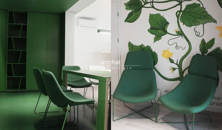 gabinet Prezesa: styl , w kategorii Biurowce zaprojektowany przez Anchal Anna Kuk-Dutka,Nowoczesny