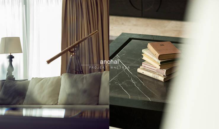 Detal: styl , w kategorii Salon zaprojektowany przez Anchal Anna Kuk-Dutka