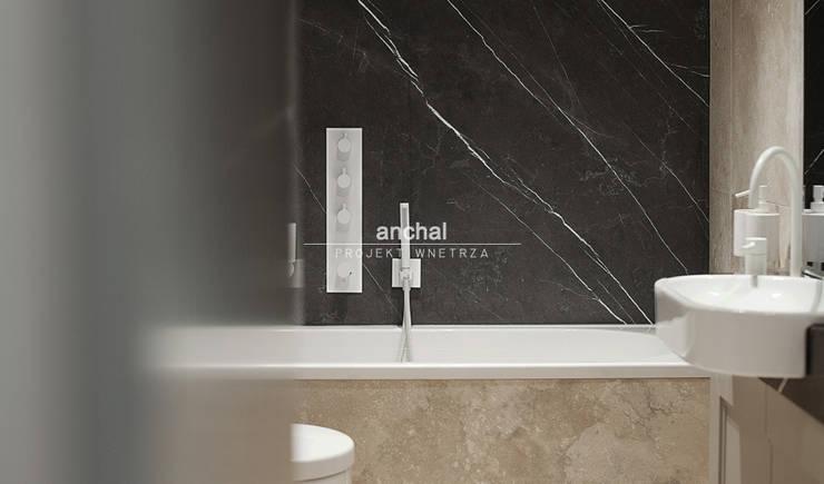 łazienka w kamieniu: styl , w kategorii Kuchnia zaprojektowany przez Anchal Anna Kuk-Dutka