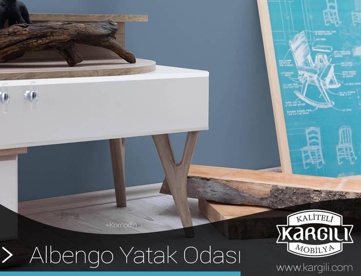 Kargılı Ev Mobilyaları – Albengo Yatak Odası Takımı:  tarz Yatak Odası