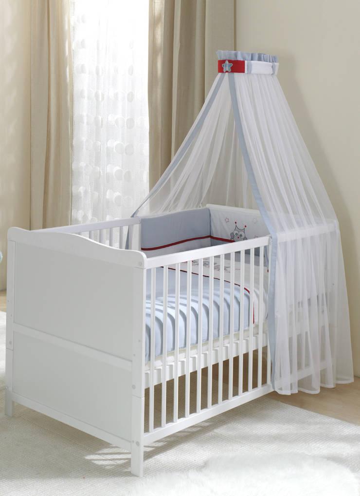 Łóżeczko Vintage Sowy: styl , w kategorii Pokój dziecięcy zaprojektowany przez Jedynak Babywelt