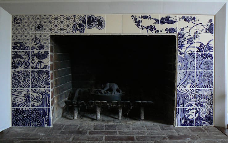 Dutch souvenir:  Eetkamer door José den Hartog, Aziatisch