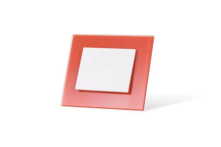 szklane włączniki OBZOR: styl , w kategorii Salon zaprojektowany przez ISD POLAND
