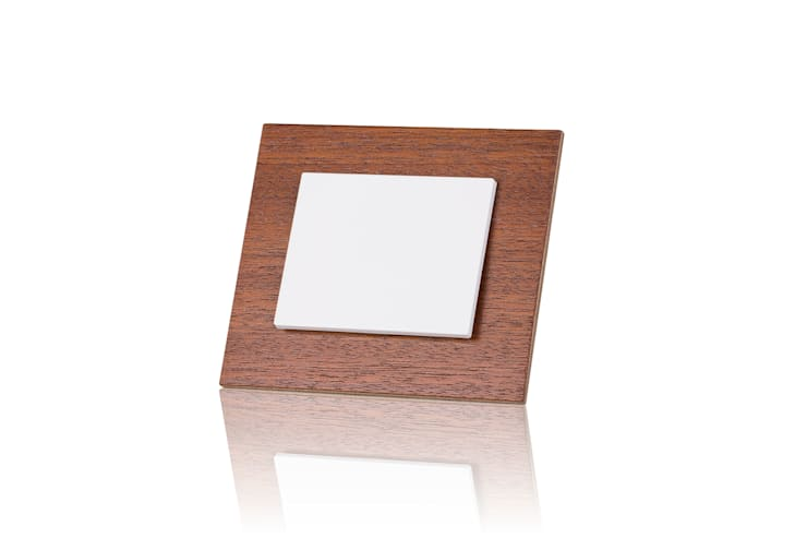 szklane włączniki OBZOR: styl , w kategorii  zaprojektowany przez ISD POLAND,Nowoczesny