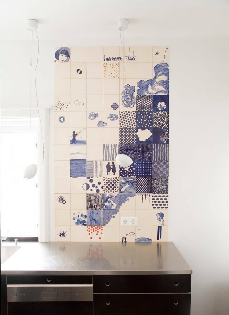celluloid:  Keuken door José den Hartog, Eclectisch