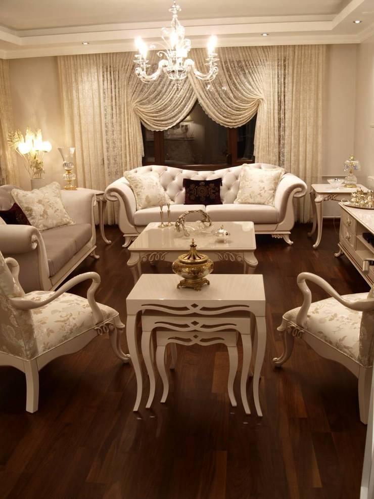 Sonmez Mobilya Avantgarde Boutique Modoko – Şehzade Salon Takımı:  tarz Oturma Odası