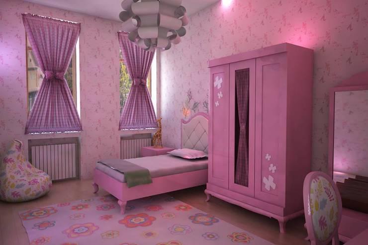 Sonmez Mobilya Avantgarde Boutique Modoko – Kelebek Genç Odası:  tarz Çocuk Odası