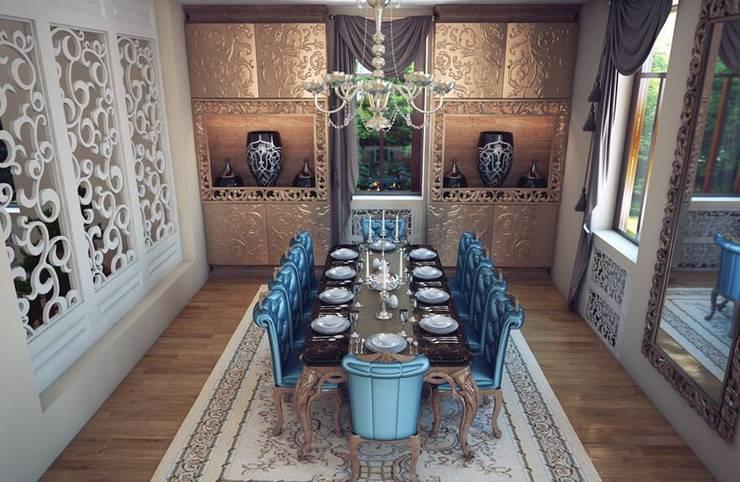 Sonmez Mobilya Avantgarde Boutique Modoko – Ferre Yemek Takımı / Özel: klasik tarz tarz Yemek Odası