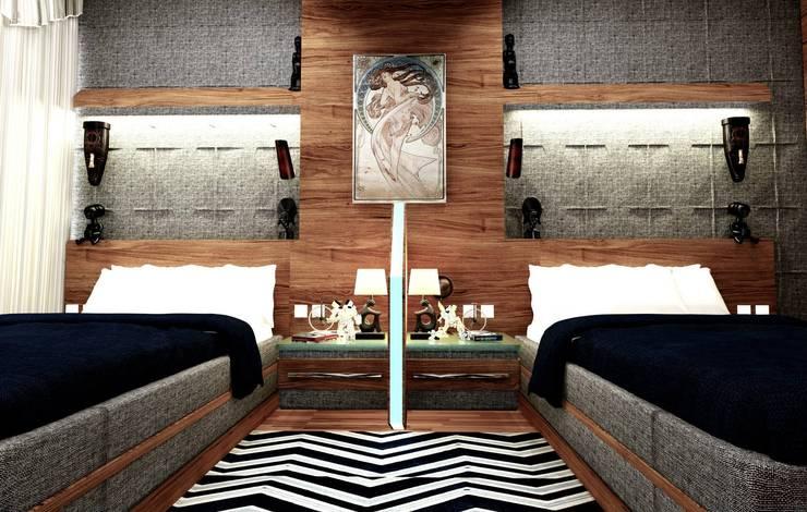 Dormitorios infantiles de estilo  por GN İÇ MİMARLIK OFİSİ,