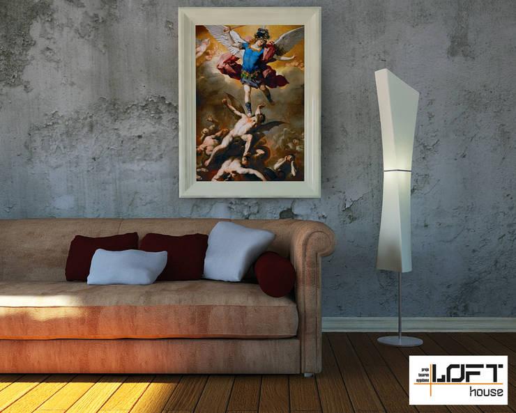 Loft House Tasarım Ofisi – 3D Projeler: minimal tarz tarz Oturma Odası