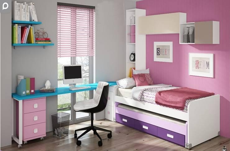 Dormitorio juvenil Sicilia: Habitaciones infantiles de estilo  de Mobihogar-2000