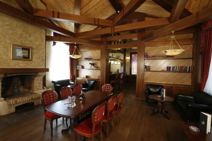 Сигарный клуб Артурс Village: Бары и клубы в . Автор – дизайн студия 'LusiSarkis '
