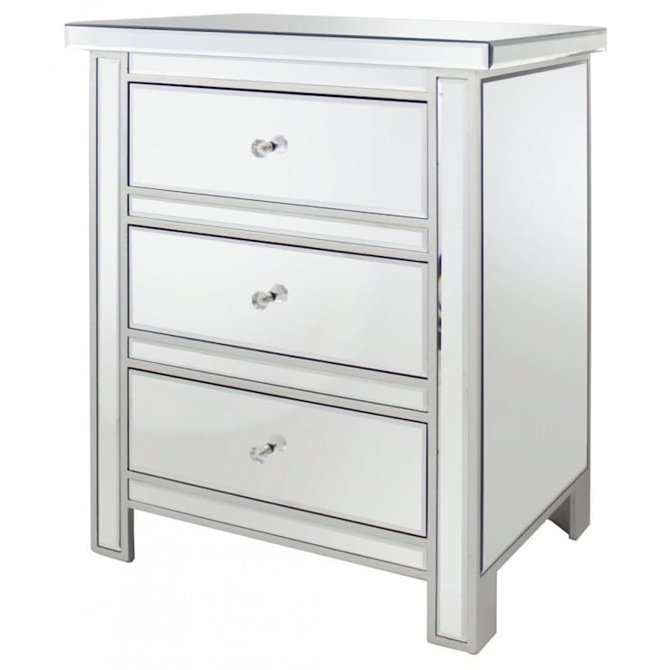 3 Draw Mirrored Unit:  Bedroom by Century Mills
