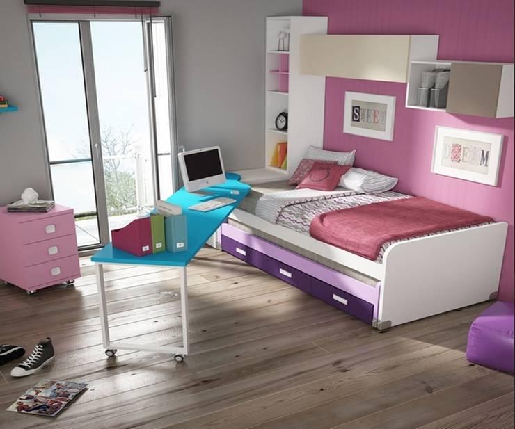 Dormitorio juvenil Sicilia (Detalle-1): Habitaciones infantiles de estilo  de Mobihogar-2000