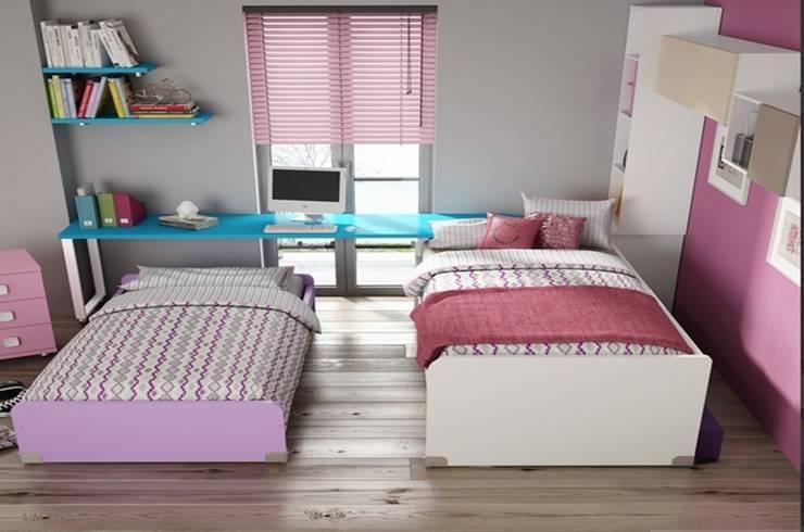 Dormitorio juvenil Sicilia  (Detalle-3): Habitaciones infantiles de estilo  de Mobihogar-2000
