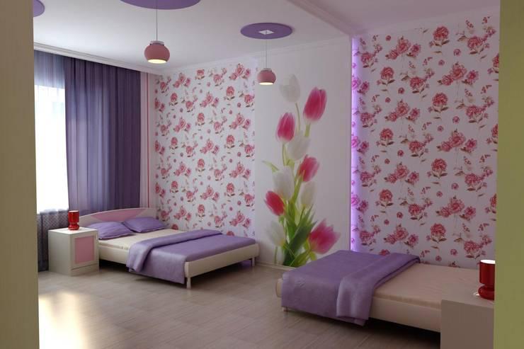 Nursery/kid's room by Дизайн студия 'Exmod' Павел Цунев
