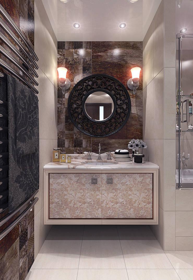 Bathroom: Ванные комнаты в . Автор – Your royal design,