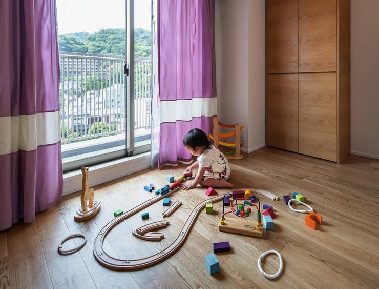 山本通の家 将来の子供部屋: 株式会社seki.designが手掛けた子供部屋です。