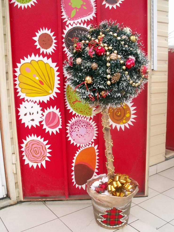 Роспись двери эмалевыми красками.: Окна и двери в . Автор – Наталья Дубовая Charman-design